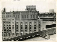 Yankee Stadium From The Tracks
