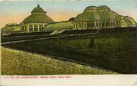 The Conservatory, Bronx Park, New York