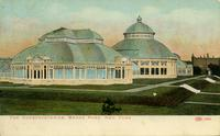 The conservatories, Bronx Park New York