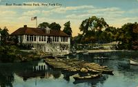 Boat House, Bronx Park, New York City