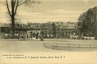 Entrance to N.Y. Botanical Gardens, Bronx Park, N.Y.