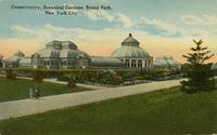 Conservatory, New York Botanical Gardens, Bronx Park, New York City
