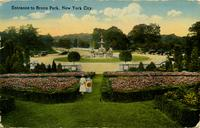 Entrance to Bronx Park, New York City