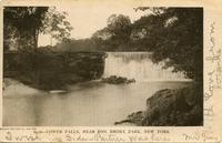 Lower Falls, near Zoo, Bronx Park, New York