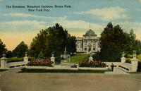 Entrance, Botanical Gardens, Bronx Park, New York City