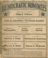 Democratic nominees on ballot