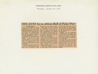 """NYU, CCNY Affirm Pact"" article"