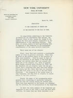 1925 election memo to the Committee of 21