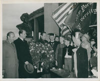 Mark Twain wreath-laying
