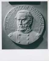 David G. Farragut medallion obverse