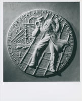 David G. Farragut medallion reverse