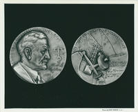 Albert Abraham Michelson medallion