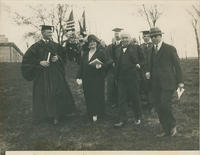 Edison at 1924 ceremony