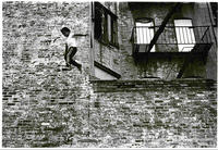 """Icarus""  or Jumping from an Abandoned Building."