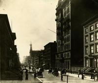 Fifth Avenue and 34th St. looking south, 1893.
