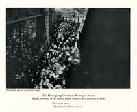 The Home-going Crowds on West 33rd Street Making their way to the various Tubes, Subways, Elevateds and so forth.