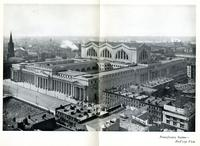 Pennsylvania Station - bird's-eye View.