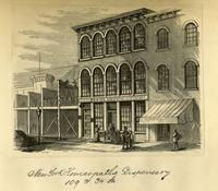 New York Homeopathic Dispensary, 109 West 34th Street.