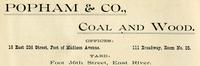 Popham & Co., Coal and Wood.