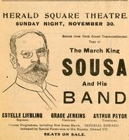 Herald Square Theatre. Sunday Nite, November 30.