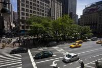 Greeley Square, view to south.
