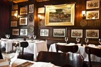 Keens Steakhouse interior, 72 West 36th Street.