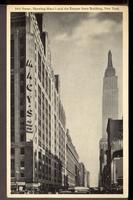 34th Street, Showing Macy's and the Empire State Building, New York.