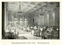 Pennsylvania Station, New York - the dining-room.