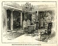 Drawing-Room in the State Apartments, New Hotel Waldorf.