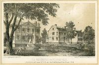 Old Residence on Murray Hill, Lexington Avenue near 37th Street on the Old Boston Post Road, 1858.