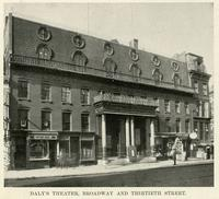 Daly's Theater, Broadway and Thirtieth Street.