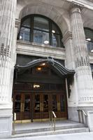 B. Altman Building Fifth Avenue entrance canopy.