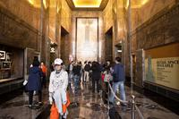 Empire State Building lobby.