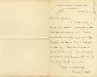 [Letter ca. 1902] June 12 [to] Mr. Markham