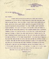 [Letter] 1912 September 2, Florence, Italy [to] friend