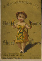J. McCormick  Co. Boots and Shoes, Colors of China.