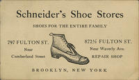 Schneider's Shoe Stores, Shoes for the Entire Family