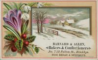 Barnard  Allen, Bakers  Confectioners