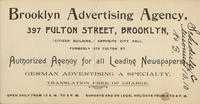 Brooklyn Advertising Agency, Authorized Agency for all Leading Newspapers