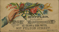 Huppler, Manufacturer of Pure Confectionery, Ice Cream  Soda Water