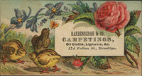 Hardenbergh  Co. Carpetings, Oil Cloths, Lignums,&c.