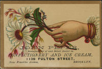 John Peper, Manufacturer of and Retail Dealer in Confectionery and Ice Cream