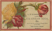 L.D. Fleming  Son's Superior Ice Cream Soda 5c.