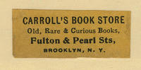 Carroll's Book Store, Old Rare  Curious Books