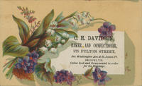 C.H. Davidson, Baker and Confectioner