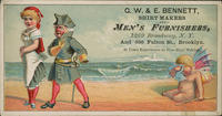 G.W. E. Bennett, Shirt makers and Men's Furnishers