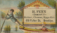 H. Fenn, Dealer in Butter, Cheese, Eggs Etc.