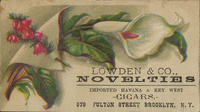 Lowden  Co. Novelties