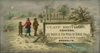 Clapp Brothers, Grocers, and Dealers in Fine Wine for Medical Use