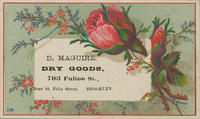 D. Maguire, Dry Goods